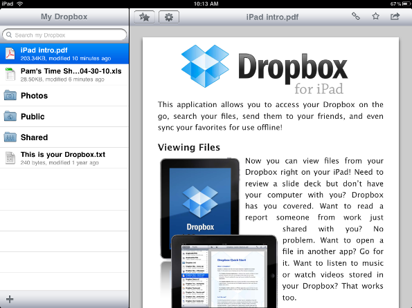 how to put a pdf onto my ipad