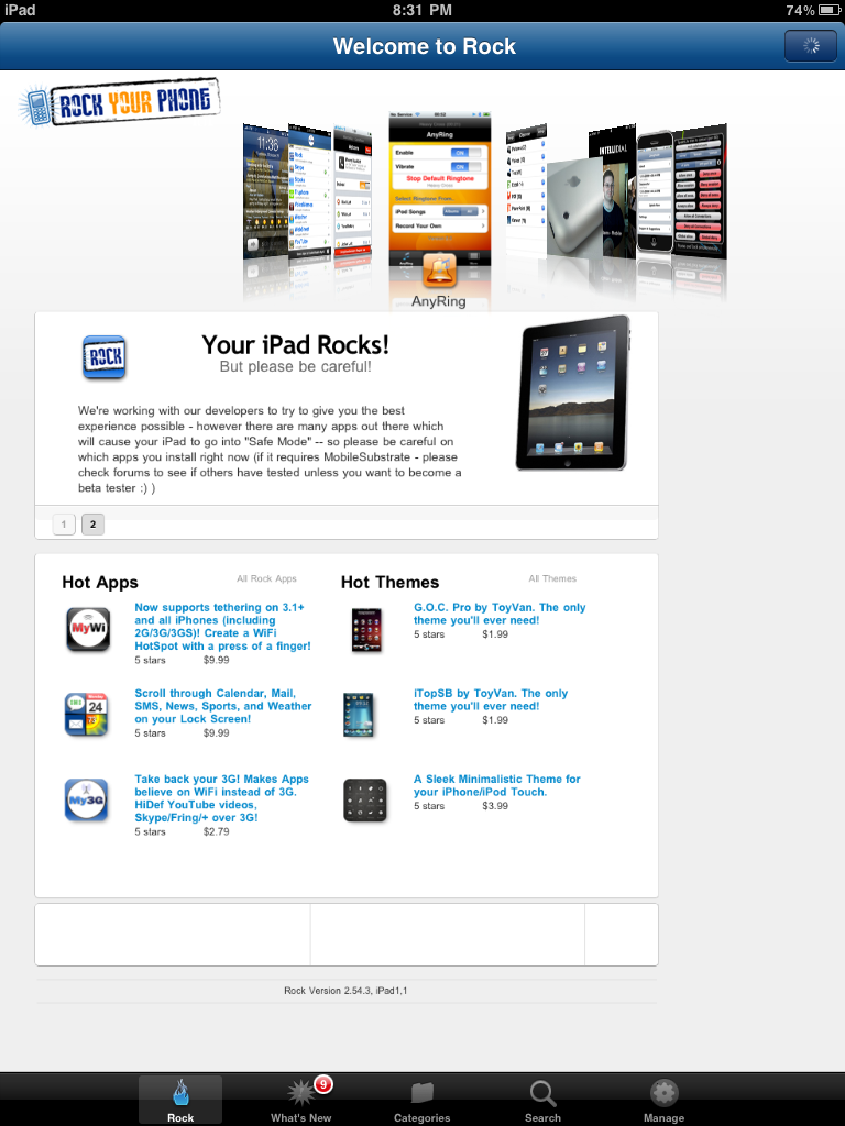 Rock Your iPad With the Rock App Store