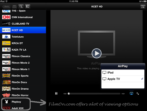 how to get airplay on ipad air