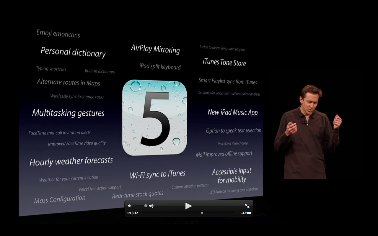A Long List of iOS 5 Features