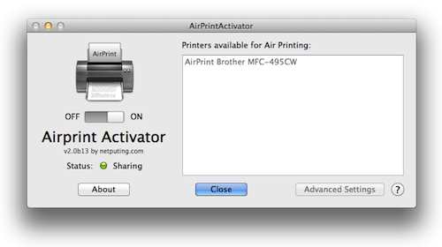 Airprint Using Any Printer On A Mac Updated Ios 5