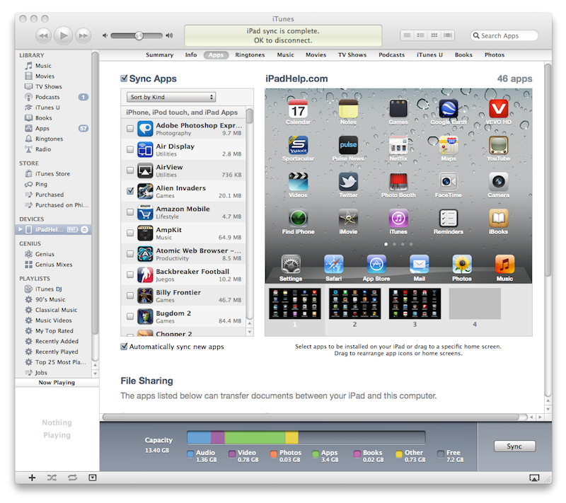 How to set up your iPad in iTunes