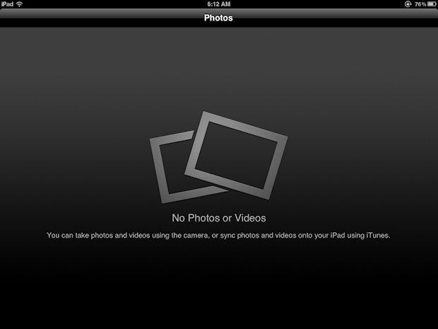 How to Remove Photos from the iPad