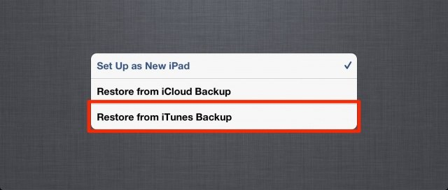 how to delete an ipad backup