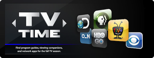 TV Times Apps in iTunes