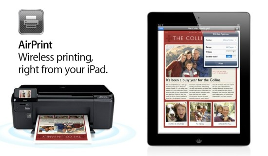 Wireless Printing from a iOS device like iPad / iPhone to ...