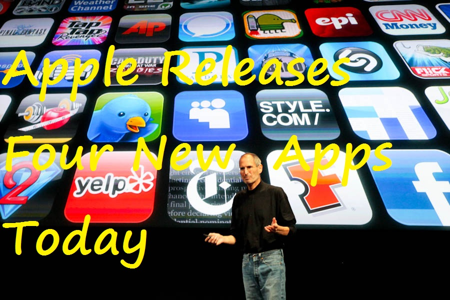 apple releases 3 new apps for the ipad