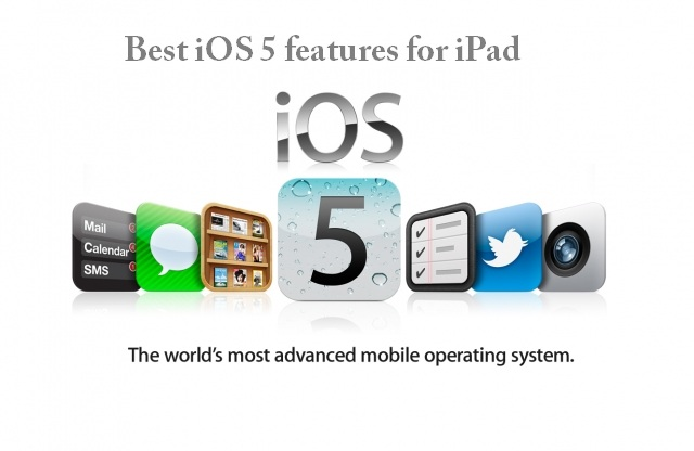 Best iOS 5 features for iPad
