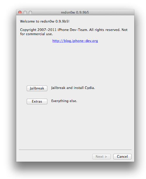 redsn0w1 How to jailbreak your iPad with iOS 5
