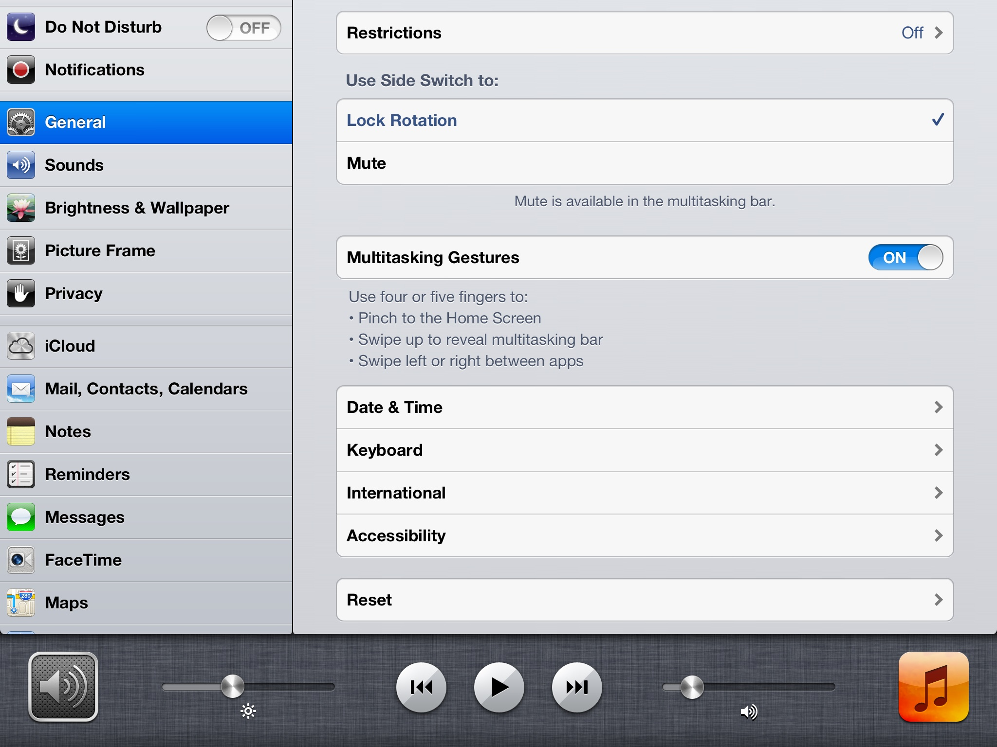 Why iPad keyboard clicks, notifications and game sounds are muted