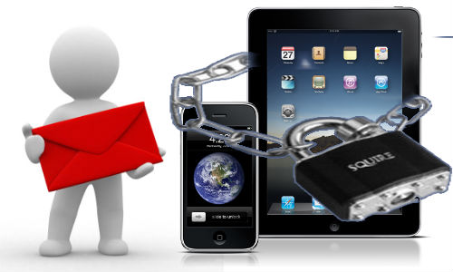 How to password protect email on your iPad