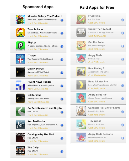 Apps for Free