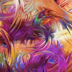 iPad Retina Wallpaper Art Pain Brush