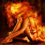 iPad Retina Wallpaper Fire Fox