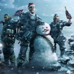 iPad Retina HD Wallpaper Snowman in Arms
