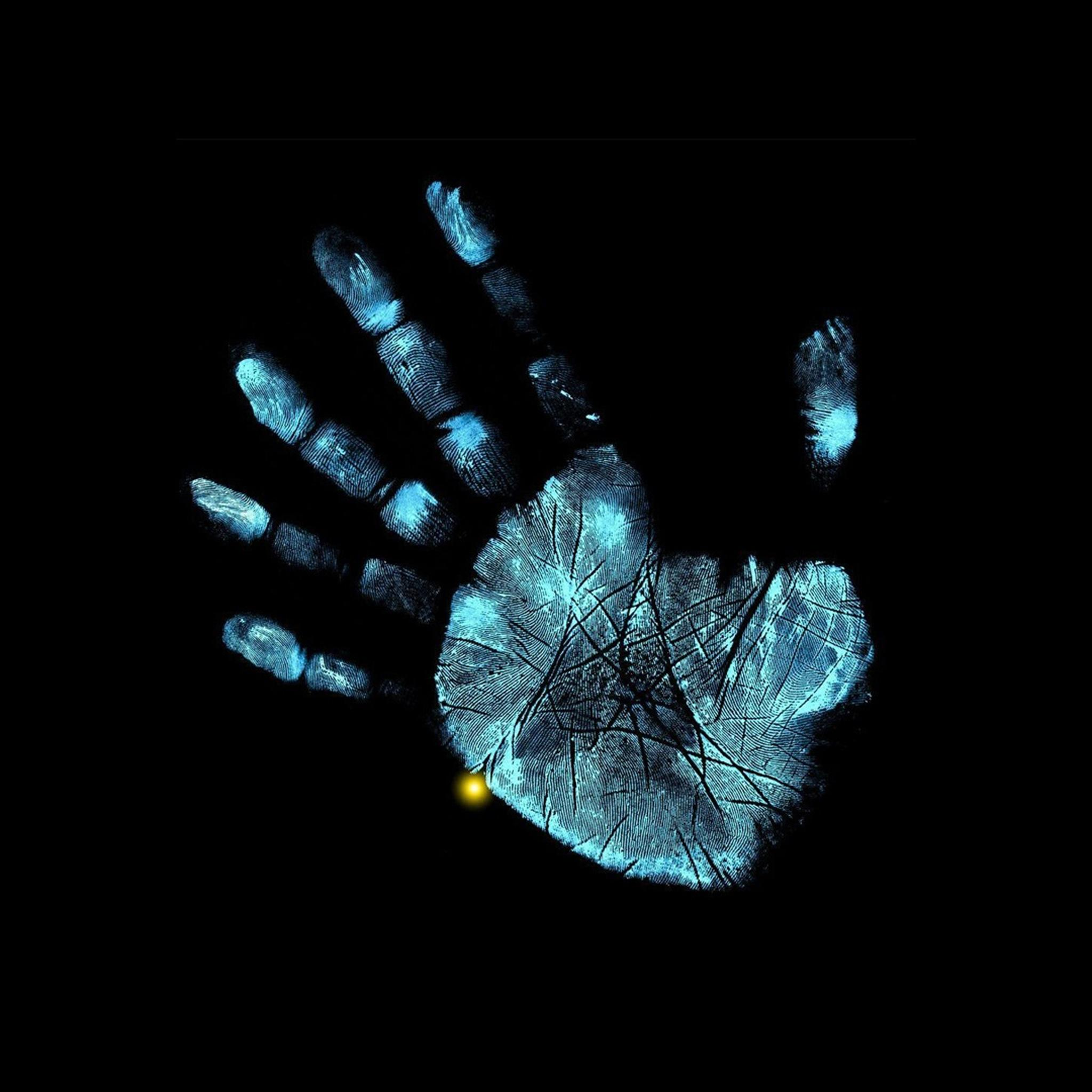 IPad Retina HD Wallpaper Handprint