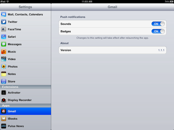 Re-Enable Push For Gmail IMAP Accounts In The Stock iOS ...
