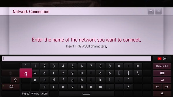 Lg Tv Wont Save Wifi Network And Password Settings
