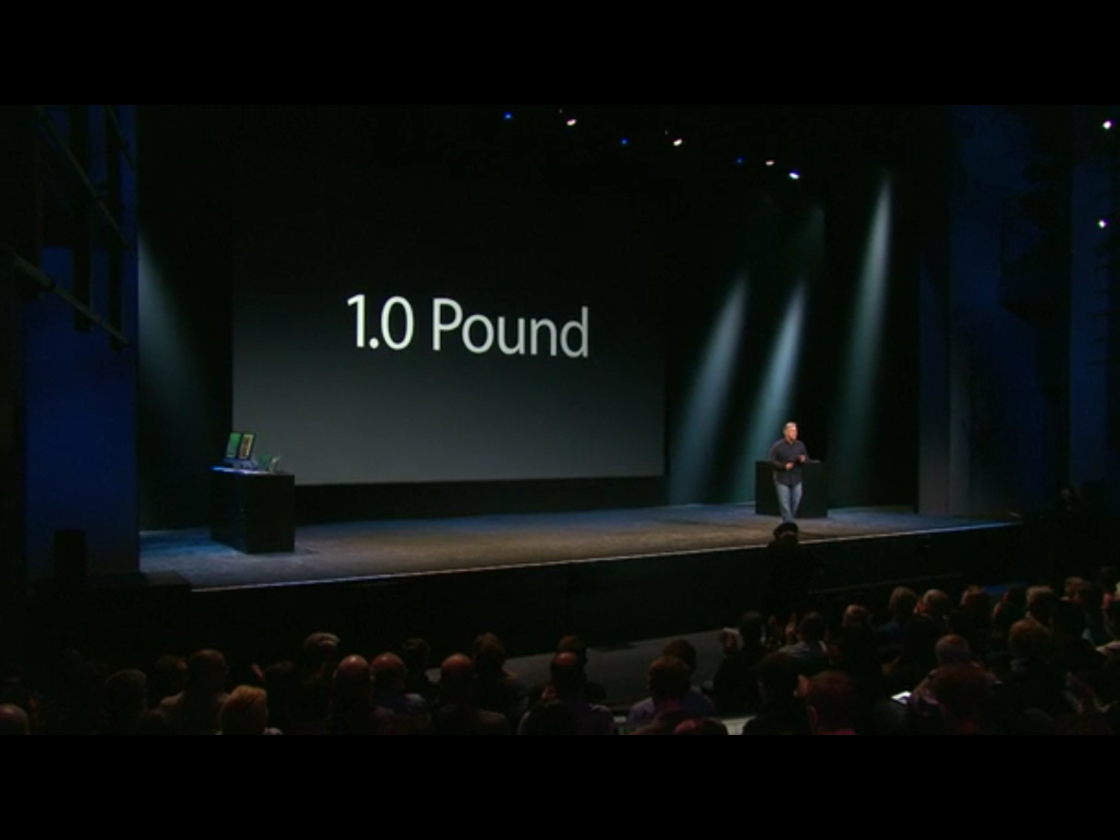 iPad Air weight