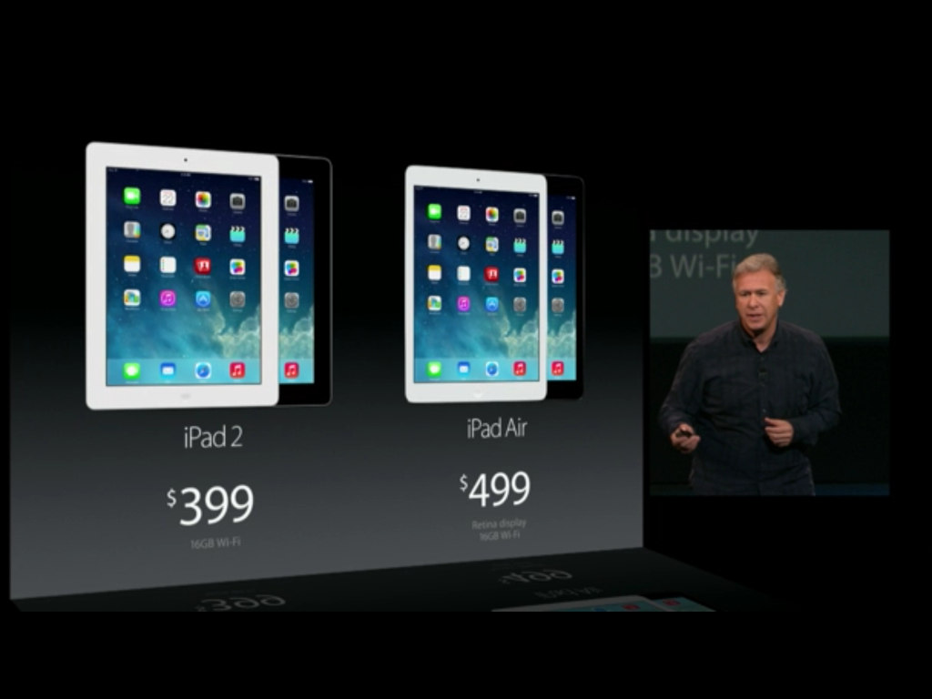 iPad Air and iPad 2 price