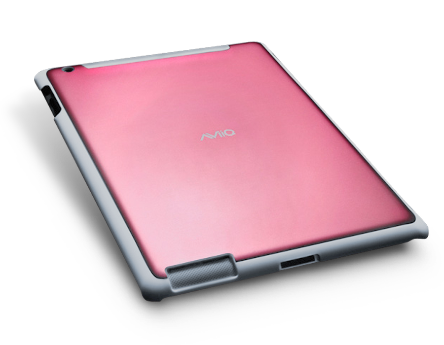 aviiq ipad 2 case - gray series - pink