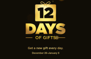 12 days of gifts apple
