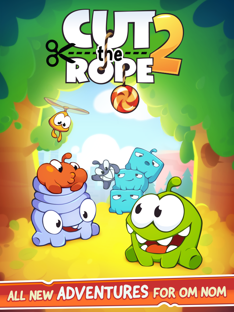 10 Best iPad Games of 2013 cut the rope 2