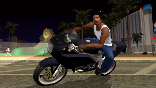 GTA san andreas CJ bike