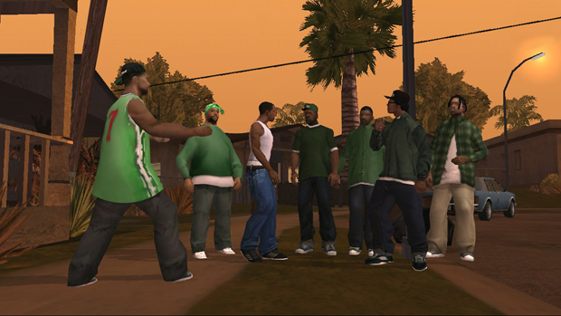 GTA san andreas gang