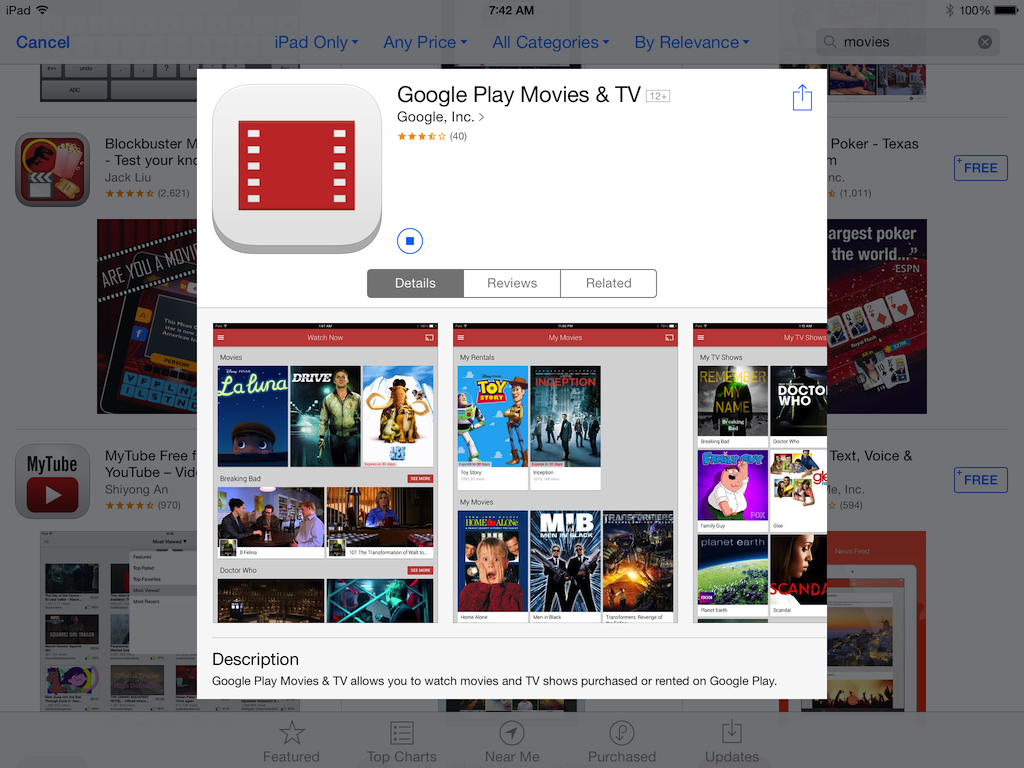 play movies from iphone to tv play and tv app now available on ios for 6383