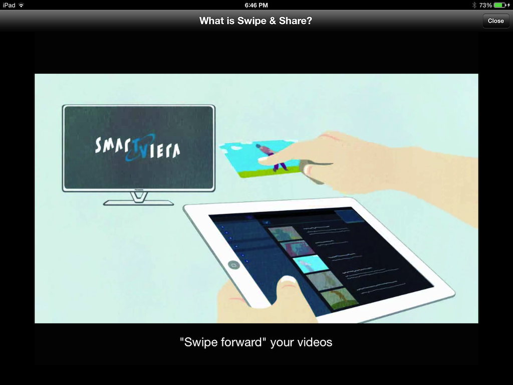 How to swipe iPad photos and videos to your smart tv