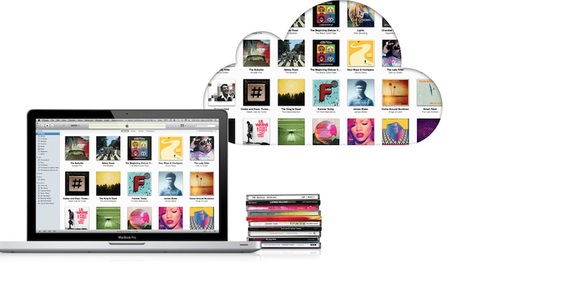 iTunes -- your cloud storage for all your data
