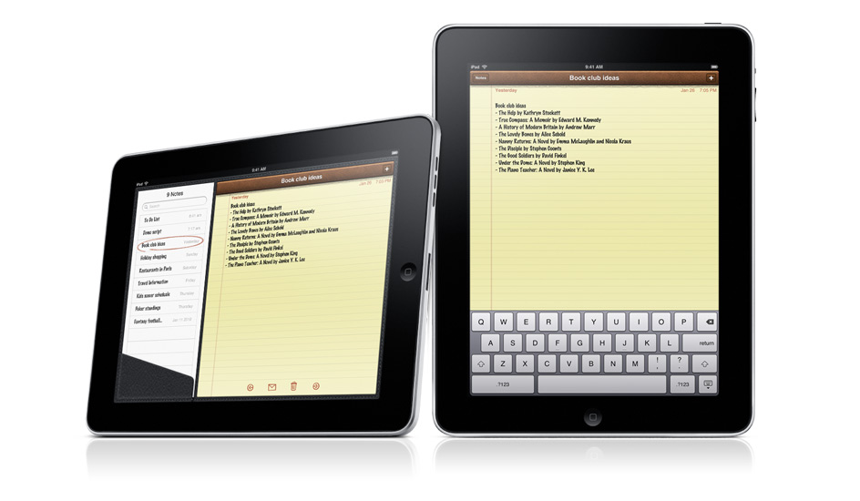 How To Recover iPad Notes Should They Disappear