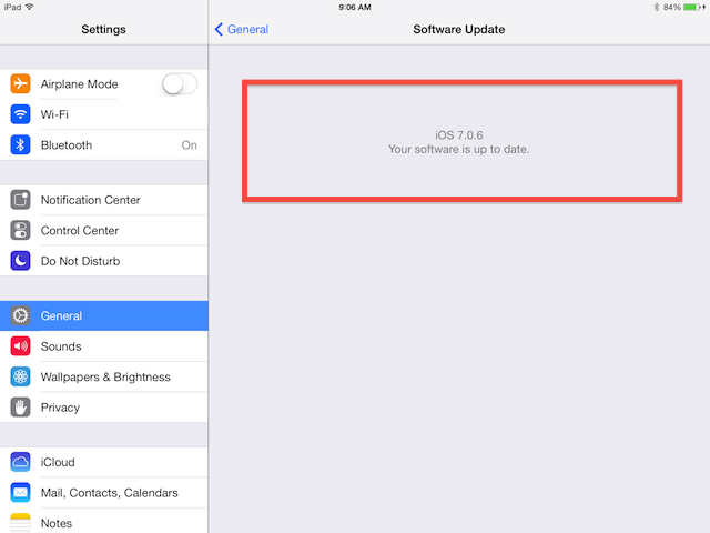 iOS 7.0.6 stalls, need recovery mode