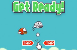 Flappy Bird game screenshot