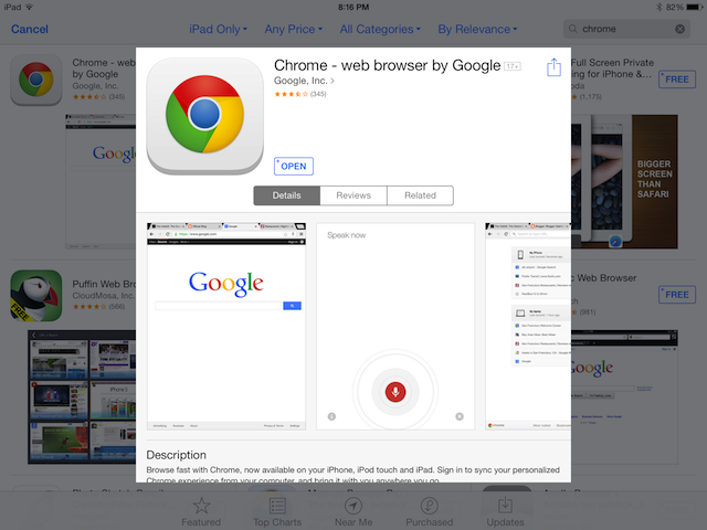 Chrome OS is the easiest download for non-mobile mode in viewing websites