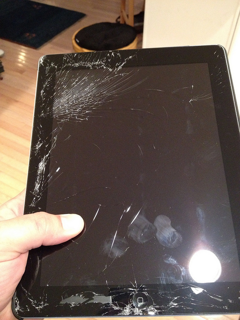 repair ipad screen
