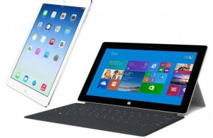 Microsoft Surface Pro vs Apple iPadAir2