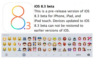 iOS 8.3 update Emojis