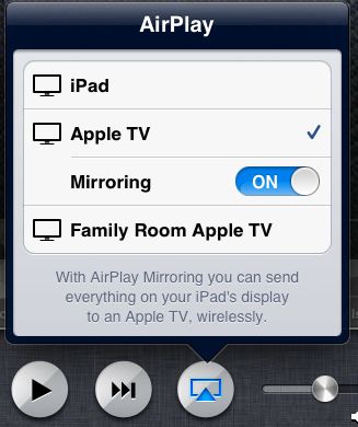 How to Use iPad Airplay mirroring on Apple TV