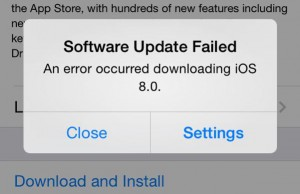 Cannot Update iPhone or iPad Because of Storage Fix