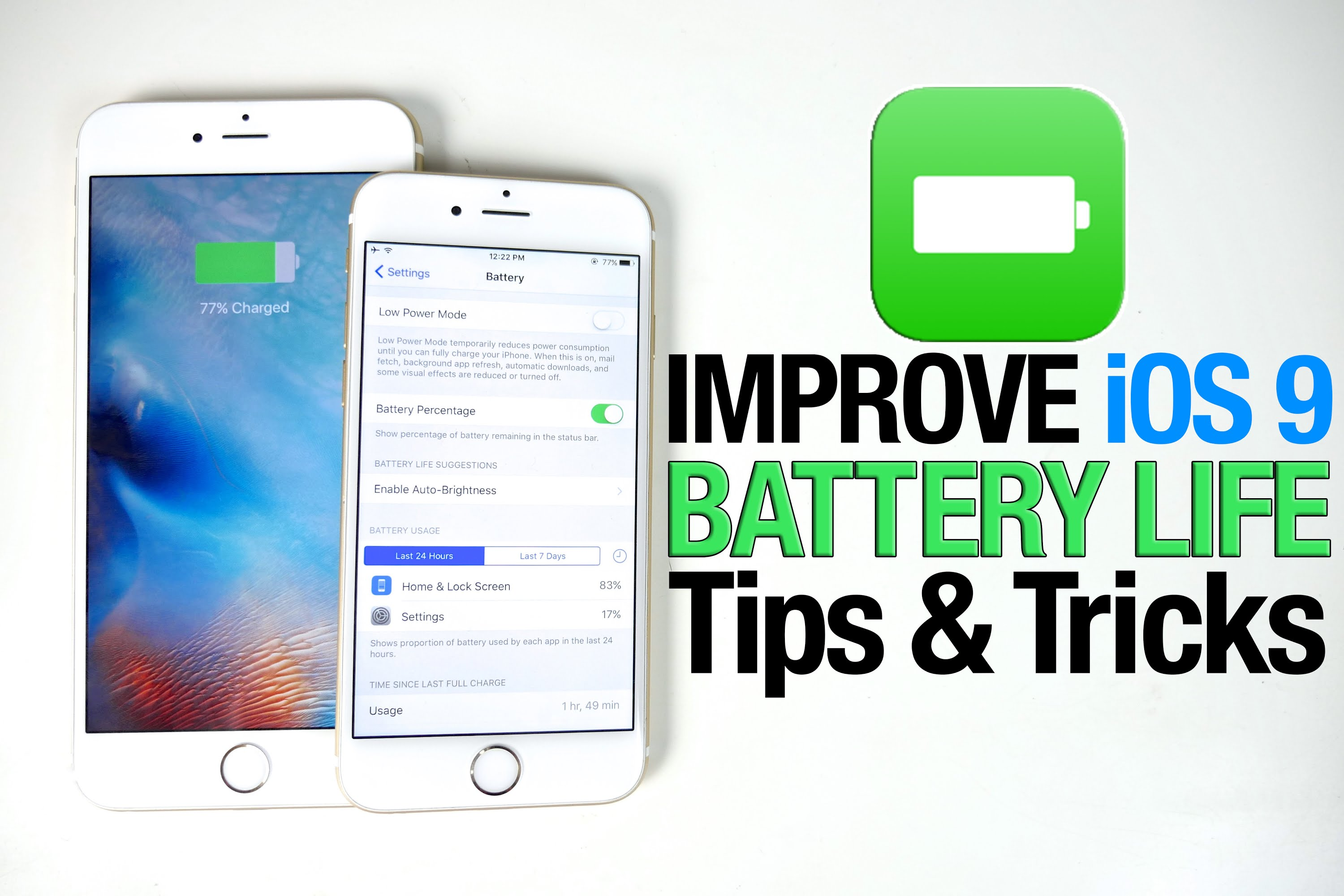 How to Make iPhone 6 Battery Life Last Longer