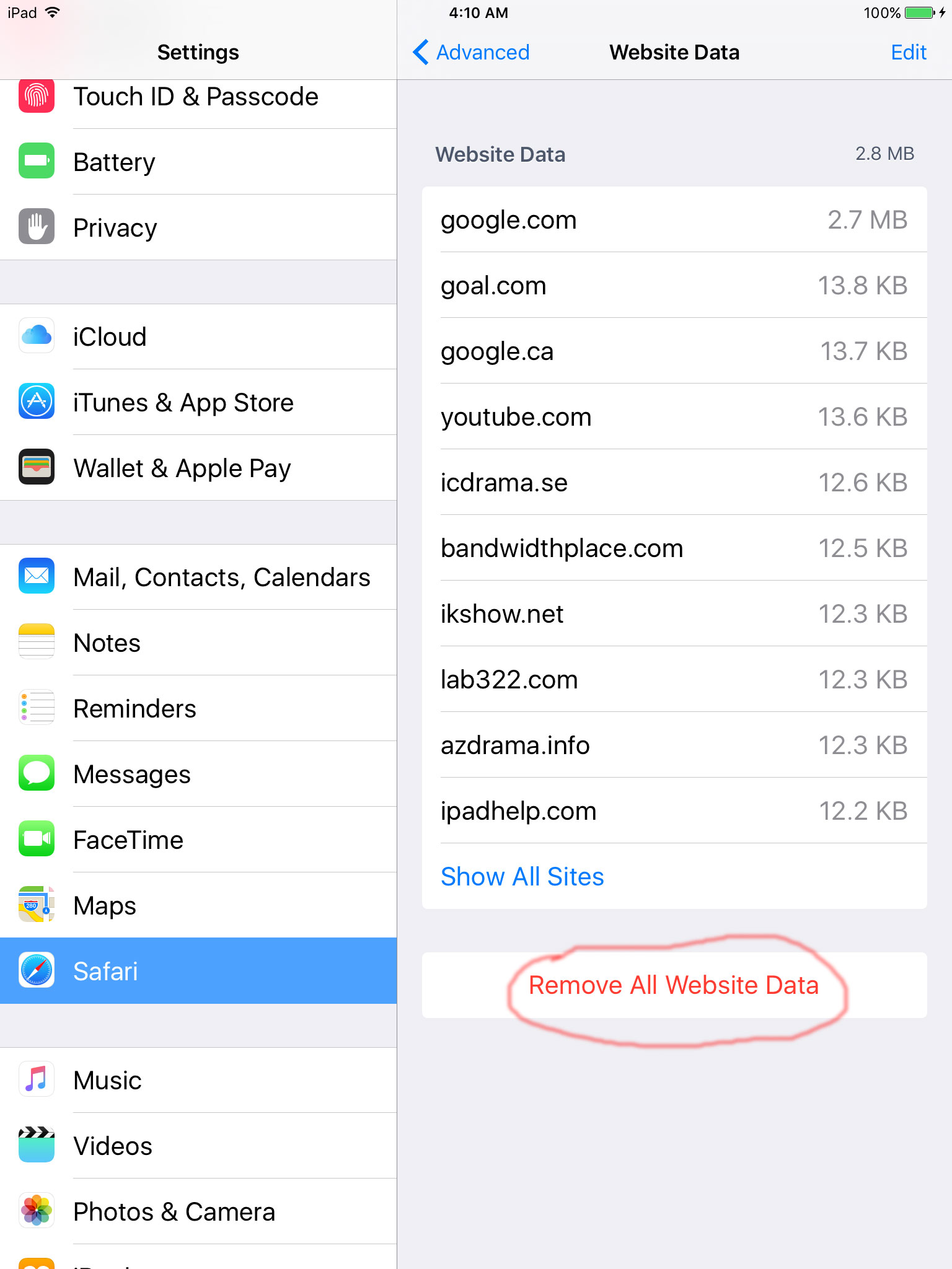 how to delete malware from iphone