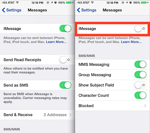 how to turn off messages on iphone imessage not working on ios 10 for iphone 7 and iphone 7 20398